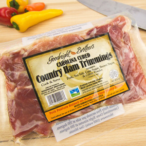 (FULL CASE) Goodnight\'s Carolina Cured Ham Trimmings