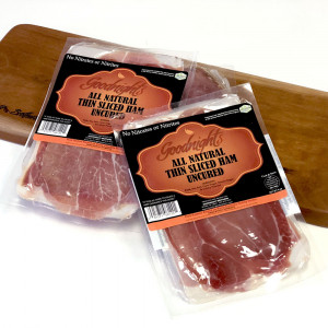 (FULL CASE) Goodnight's Dry Cured Thin Sliced Ham